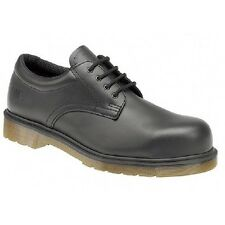 Dr Martens Unisex Plain Welt 2216 Safety Toe Cap Industrial Shoes Black Haircell