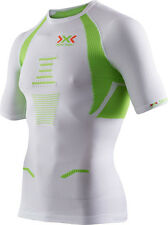 x-bionic The Trick Running Shirt, short, Herren,weiß/lime  UVP: 99,00 €