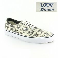 Vans Era VN-0VQFK6GB Unisex 5-Eyelet Canvas Shoes White