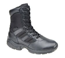 MAGNUM 'PANTHER 8 SZ' 8 Inch Side Zip Military Combat Boots Black Magnashield Co
