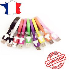 Cable piso cargador usb color para iphone 5 5s 6 7 y 6s 7 plus lightning ipad
