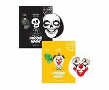 Berrisom Horror Mask Series *Skull & Pierrot Sheet Mask* / Korean Cosmetics UK