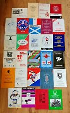 Rugby Union Tour Brochures 1970 - 1994
