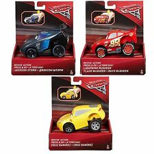 Disney Pixar Cars 3 Movie Rev N Race Revvin Action Car Toys // Mattel (DVD31)