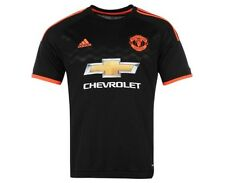 Adidas Manchester United 3rd Away Maillot 2015 2016 Chevrolet Noir Rougr Neuf