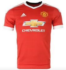 Adidas Manchester United Heim Maillot 15 2016 Chevrolet Rouge toutes les tailles
