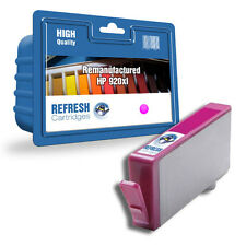 remanufacturado HP 920xl MAGENTA Hewlett Packard Sencillo Cartucho de tinta