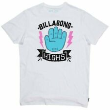 BILLABONG HIGH5 SS BLANCO TEE SS 2016 CAMISETA SURF SKATE NUEVO S M L XL