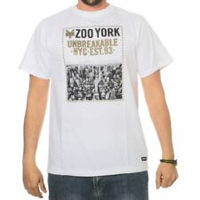 ZOO YORK CITY HEIGHTS TEE ÓPTICA BLANCO NUEVO SS 2016 CAMISETA S M L XL SKATE EN