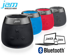 HMDX Jam Replay Portable Rechargeable Bluetooth Compact Speaker AUX Blue Red BLK