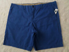 GAP LIVED-IN CHINO SHORTS MENS SIZE 46 ZIP FLY BLUE COLOR NEW WITH TAGS