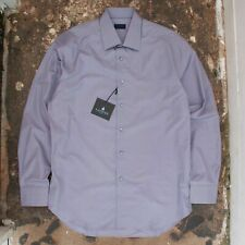 New Mens Lanvin Classic Collar Shirt in a Muted Lavender Tone BNWT