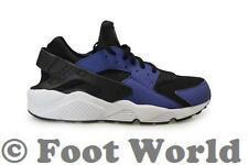 Mens Nike Air Huarache - 318429-411 - Blue Black Trainers