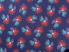 LIBERTY TANA LAWN - FIREWORK FLORAL (C)  - 100% COTTON FABRIC  - ALL SIZES