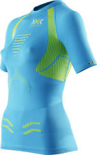 X-bionic, The Trick, Running Shirt short sleeve, Damen,ocean/yellow UVP: 99,00 €