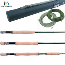 Fly Fishing Rod Fast Action 3/4/5/6/7/8/9/10/12WT Fly Rod (IM10) & WF Fly Line