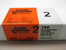 Ilford Ilfospeed RC Deluxe 10x10