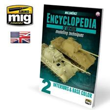 AMMO OF MiG ENCYCLOPEDIA OF ARMOR MODELLING TECHNIQUES #2 Interiors & Base Color
