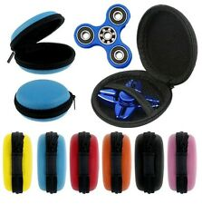 Fidget Spinner Case Round Earbuds Earphone Jewelry Carry Case Box Bag US Seller