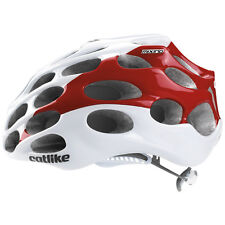 Catlike Mixino Road Helmet Cycling 39 Vents Lightweight White/Red