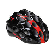 Catlike Whisper Road Helmet Cycling Dual Flow Air Venting Black/Red