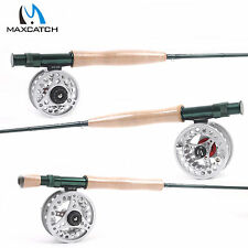 Maxcatch Fly Rod And Fly Reel Combo #3/4/5/6/7/8 Weight Fast Action fly rod