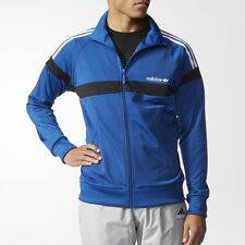 Adidas Herren Originals Jacke Fitness Track Top AJ6945 Blau Trainingsjacke XS-XL