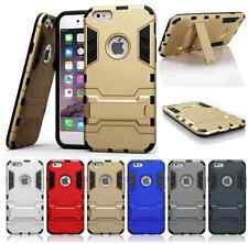 Heartly Hybrid Flip Kick Stand Hard Armor Bumper Back Case Cover - Apple iPhone