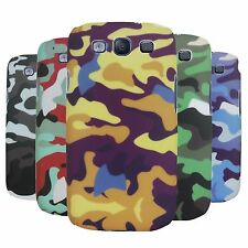Army & Strip Color Armor Hybrid Hard Back Case Cover For Samsung Galaxy S3 i9300