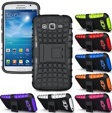 Heartly Flip Kick Stand Hard Armor Back Case Cover- Samsung Galaxy Grand 2 G7106