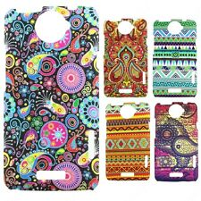 Heartly Aztec Print Tribal Style Thin Hard Back Case Cover - HTC One X X+ S720E