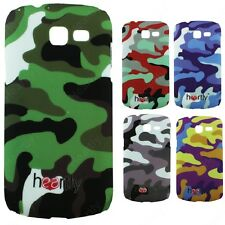 Heartly Army & Strip Style Hard Back Case Cover Samsung Galaxy Trend Duos S7392