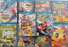 NINTENDO WII U PAL VIDEO GAMES SELECTION WORLDWIDE DELIVERY