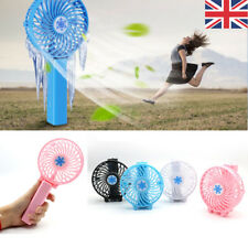 Mini Portable Hand-held Desk Fan Cooler Cooling USB Rechargeable Air Conditioner