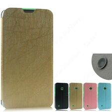 Heartly Premium PU Leather Flip Stand Hard Best Back Case Cover- Nokia Lumia 530