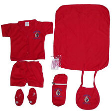 New Born Baby Gift Set | Combo Pack of 7 piece for Boys n Girls | 12 Colours