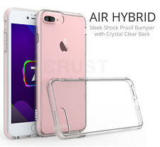 """CRUST™ Clear Back Cover For Apple iPhone 7 Plus (5.5"""") Shock Proof Bumper Case"""