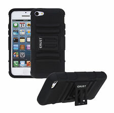 CRUST™ Case For Apple iPhone 5C Armor Kick Stand Dual Layer Hard Back Cover