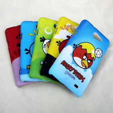 Angry Bird Gear 4 Smooth Feel Hard Back Case Cover For Samsung Galaxy R (i9103)