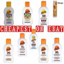 MALIBU UVA/UVB SUN PROTECTION LOTIONS MULTI PRODUCTS 100ML ALL SPF AVAILABLE