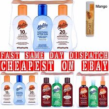 MALIBU TRAVEL PACKS 4SPF TO 20SPF 3X100ML LOTION OIL ATER SUN BRONZING ALOE