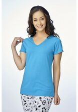 V STAR Women's T Shirt  VLT 1451 ( V-NECK HALF SLEEVE WOMEN'S TEE)