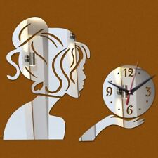 special offer 3d mirror diy stickers  home decoration mirror acrylic wall clock