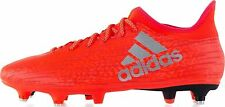 Mens Adidas X 16.3 SG Red Silver Soft Ground Changeable Studs Football Boots