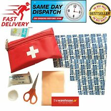 First Aid Kit Carry Bag Pouch Emergency Travel Kit holiday