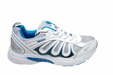 FASHION  BRANDED SPORTS SHOES IN WHITE BLUE COLORS MRP 1499 50% DISCOUNT 749