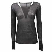 C5414 maglione donna WOOLRICH lino sweater woman