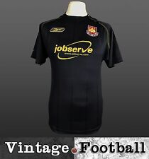 Reebok West Ham United Away Football Shirt Kit Top 2003/04 (Size: S) WHUFC