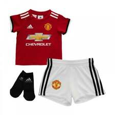 Adidas Infants Manchester United 2017/2018 Baby Home Kit (3M-18M) (Red/White)