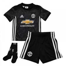 Adidas Infants Manchester United 2017/2018 Mini Away Kit (18M-6Y) (Black)